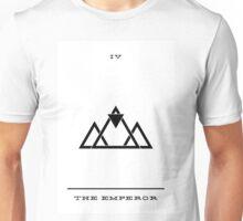 Minimalist Tarot - The Emperor Unisex T-Shirt
