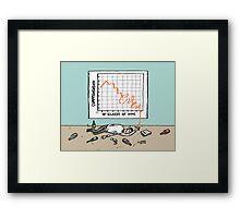 Comprehension v Wine Graph Framed Print