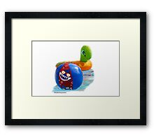 Float Buddies!  Framed Print