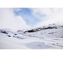 Glacier Hiking in Iceland - Color Photographic Print