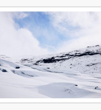 Glacier Hiking in Iceland - Color Sticker
