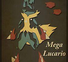 Mega Lucario by Ryan H.