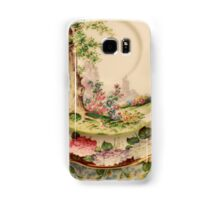 Scalloped Floral Printed China Antique Collection  Samsung Galaxy Case/Skin