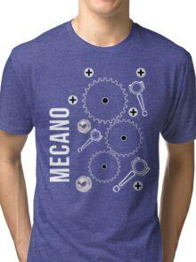 Mecano Geer Wheels Pinion Graphic Engineering sweatshirt Tri-blend T-Shirt