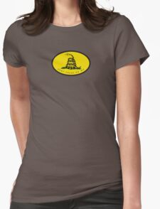 Dont Tread On Me - Gadsden flag Womens Fitted T-Shirt