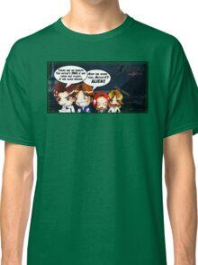 X Castle Files (background) Classic T-Shirt
