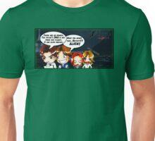 X Castle Files (background) Unisex T-Shirt