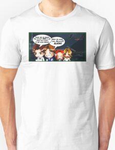 X Castle Files (background) T-Shirt