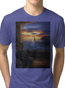 A Serenity of Still and Exquisite Brilliance Tri-blend T-Shirt