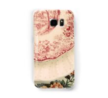 Antique China Floral Patterns  Samsung Galaxy Case/Skin