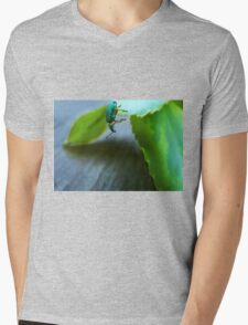 Curious Insect Mens V-Neck T-Shirt