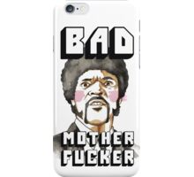 Pulp fiction - Jules Winnfield - Bad mother fucker iPhone Case/Skin