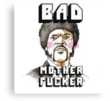 Pulp fiction - Jules Winnfield - Bad mother fucker Canvas Print