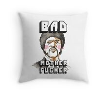 Pulp fiction - Jules Winnfield - Bad mother fucker Throw Pillow
