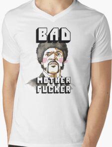 Pulp fiction - Jules Winnfield - Bad mother fucker Mens V-Neck T-Shirt