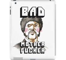 Pulp fiction - Jules Winnfield - Bad mother fucker iPad Case/Skin