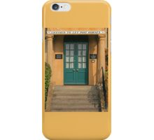 Angel House, Sherborne iPhone Case/Skin