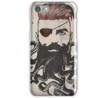Black Beard iPhone Case/Skin