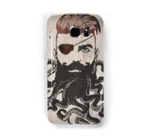 Black Beard Samsung Galaxy Case/Skin