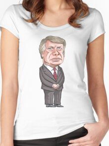 President Jimmy Carter Women's Fitted Scoop T-Shirt