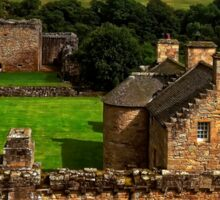 The Castle at Craignethan Sticker