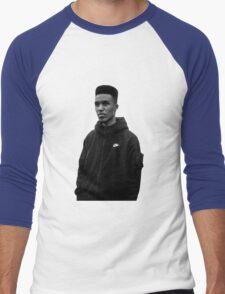 Novelist Grime Artist Black White Men's Baseball ¾ T-Shirt