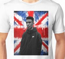 Novelist Grime Artist British Flag Unisex T-Shirt