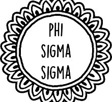 Phi Sigma Sigma by sophhsophh