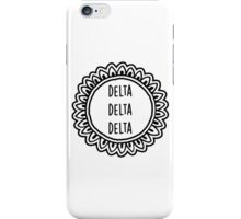 Delta Delta Delta iPhone Case/Skin