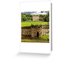 Craignethan Castle Entrance Greeting Card