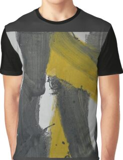 Yellow And Black Abstract 2 Graphic T-Shirt