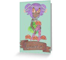 Cancer Seedling Greeting Card