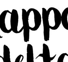 Kappa Delta Flowers Sticker