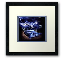 THE FEARLESS GHOST TRUCK Framed Print