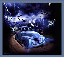 THE FEARLESS GHOST TRUCK Photographic Print