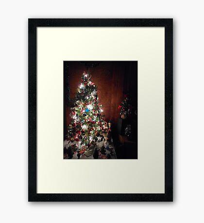 Christmas Tree I Framed Print
