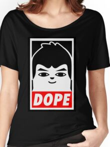 Hip Hop Monster DOPE ( V - BTS ) Women's Relaxed Fit T-Shirt