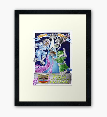 The Food Of The Future Framed Print