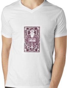 Underworld Blues Mens V-Neck T-Shirt