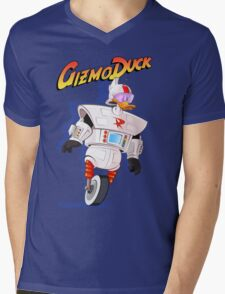 Gizmo Duck Mens V-Neck T-Shirt