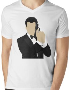 Brosnan Mens V-Neck T-Shirt