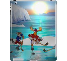 Arctic Hockey Sunset iPad Case/Skin