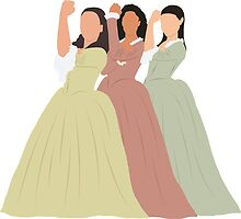 The Schuyler Sisters by sabinam21