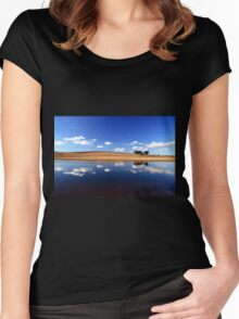 Blue Reflections Women's Fitted Scoop T-Shirt