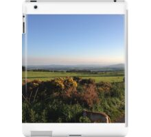 Aberdeenshire countryside... and look a dog! iPad Case/Skin