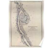 Civil War Maps 1166 Mississippi River from Cairo Ill to St Marys Mo in VI sheets 04 Poster