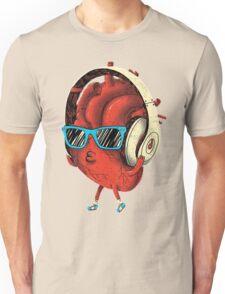 Cool Heart Design Unisex T-Shirt