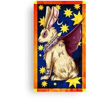 Mystic Rabbit  Canvas Print