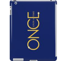 once upon a time, gold text, ouat, iphone, OUAT iphone iPad Case/Skin