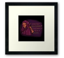 Jessica's Weakness Framed Print